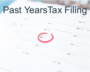 Past Years Tax Filing